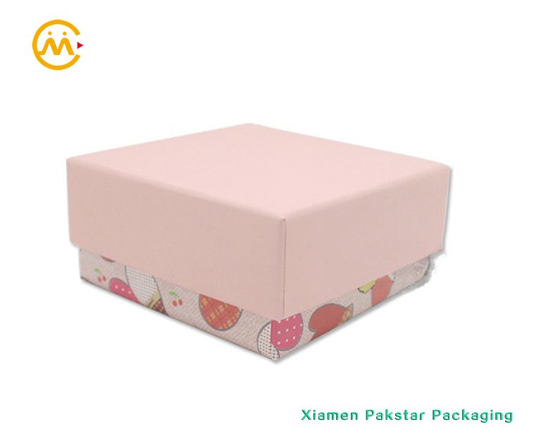 Wholesale Custom Earring Set Jewelry Pink Cardboard Gift Boxes With